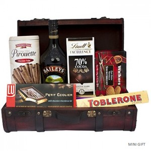 Irish Creme Gift Basket to Russia