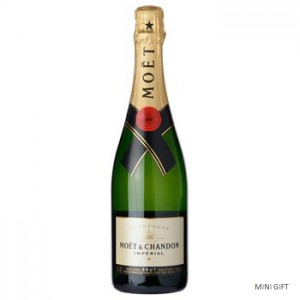 Full Bottle of Moet and Chandon Imperial Champagne to the USA