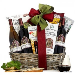 Triple Delight Gift Basket to the USA