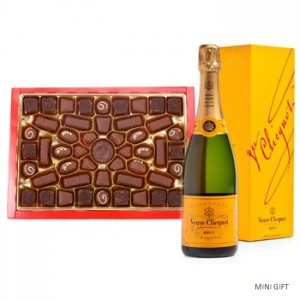 Veuve and Chocolate to the UK